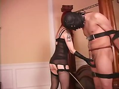 extreme, balls, whip, domination, dominatrix, bdsm, mistress, bondage, female, scene, bust, male, femdom