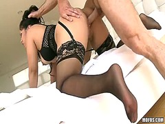 Hot action with sexy asian on stockings jessica bangkok
