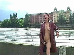 public, masturbation, bench, fingering, flashing, solo