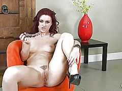 Karlie Montana, masturbation, tattoo, shaved, karlie montana, toy