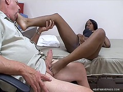Fetish, Mastrubasie, Voet Fetish, Inter-Ras, Hand Job