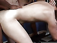 Gay clip of hard, hot and heavy with kameron