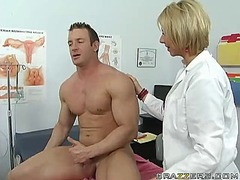 mom, lingerie, doctor, milf, brianna, fucking, blonde, beach