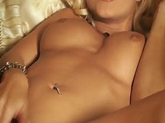 jana cova,  blonde, shaved, jana cova, masturbation, solo, toy