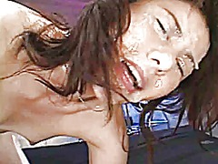 cumshot, bukkake, japanese, facial