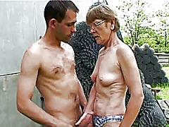 mature, outdoors, granny, milf, outdoor